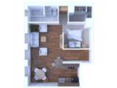The Versailles Apartments - One BR Floor Plan A5