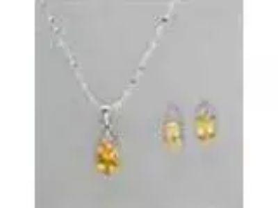 Citrine Jewellery Set
