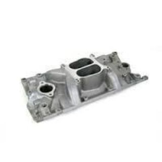 Sell CHEVY SB HOLESHOT V8 w/1996 & Later Vortec heads Intake manifold satin motorcycle in Mount Sterling, Ohio, US, for US $150.00