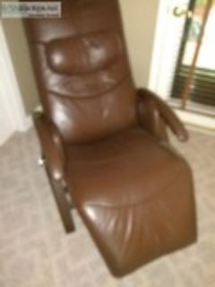 Relax A Back leather recliner.
