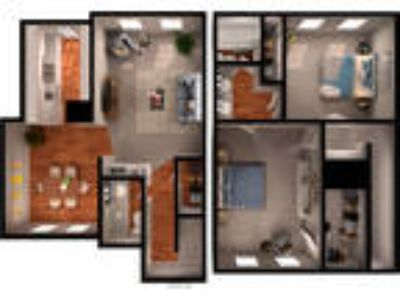 Willow Oaks - Two BR 1.5 BA Townhouse (gas)
