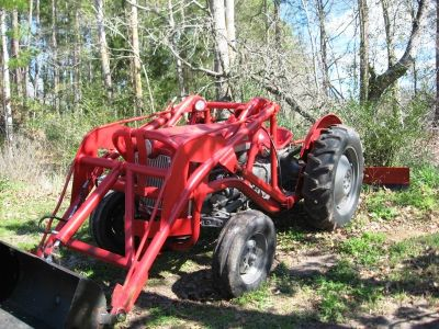 1953 Ford Jubilee with Loader