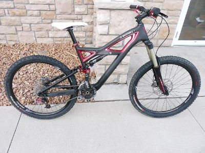 2011 Used M Specialized S-Works Carbon Enduro Mountain Bike Sram XX X.0 Bicycle  $1200