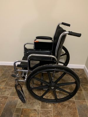 EXCEL Wheelchair with padded seat cover