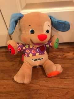 Fisher Price Musical/Talking Puppy