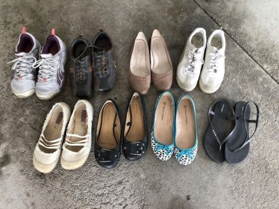 All fit like 7.5 women s shoes lot