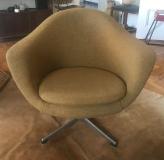 Mid-Century Danish Bramminge MOBLER Swivel Chair
