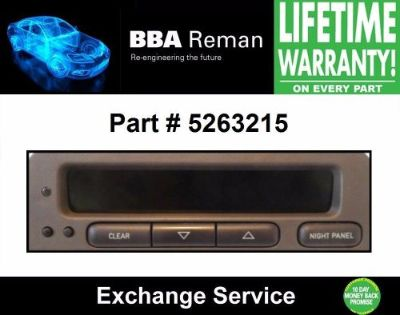 Purchase Saab Information Display SID Exchange 5263215 9-3 93 9-5 95 99 00 01 02 03 motorcycle in Taunton, Massachusetts, United States, for US $99.19