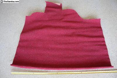 OG German Weave Carpet, Red