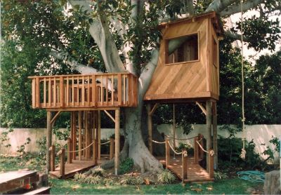 Custom Treehouses and Playhouses