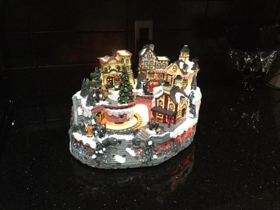 Holiday Collection - Fibre Optic With Motion Train