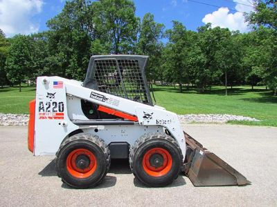 $2,990, Like new Bobcat A220 turbo skid steer loader