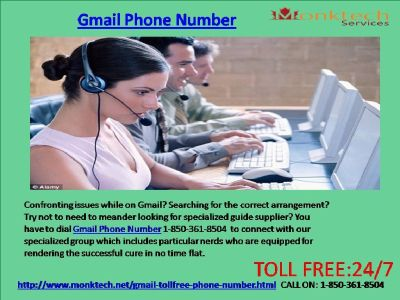 Does Gmail Phone Number Effectively Root Out Your Problems 1-850-361-8504?
