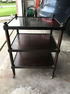 1940s End Table