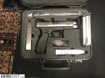 "For Sale: Springfield XDm 4.5"" bi-tone 9mm"