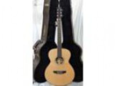 Timberidge Solid Spruce Top Acoustic Electric and Deluxe Case