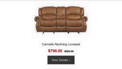 Carmelle Living Room Set