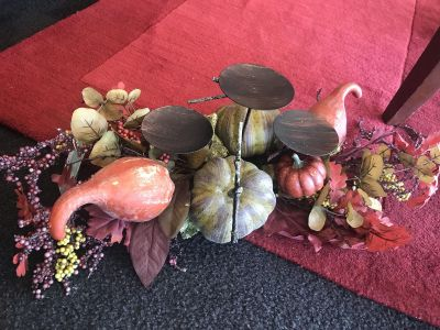 GORGEOUS FALL TABLE ARRANGEMENT24 in wide