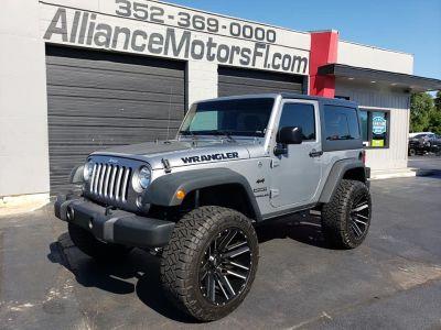 2015 Jeep Wrangler Sport (Silver)