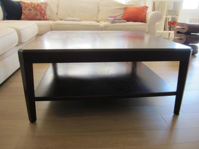 """Crate Barrel 37"""" square coffee table - FREE!!!"""
