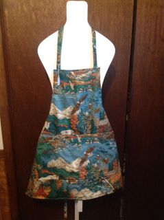 Wild life brand new apron made by me