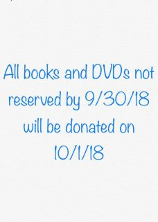 Donations to be made on 10/1/18