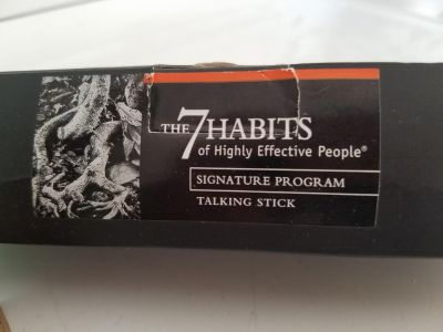 Native American Collectible Talking Stick, with instructions