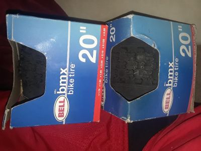 """20"""" bmx tires and tubes"""