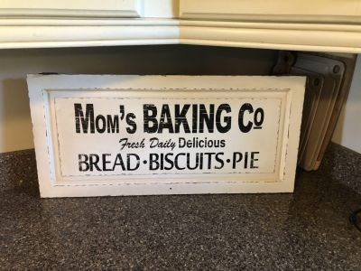 Large sign - brand new (retails over $40)