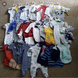 Looking for newborn boy clothes lot reasonably priced