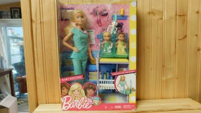 BARBIE BABY DOCTOR PLAY SET. age 3+