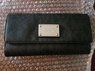 Authentic Michael Kors checkbook wallet