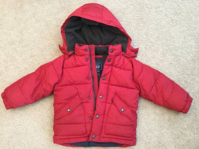 babyGap Warmest Puffer Jacket, size 4 years