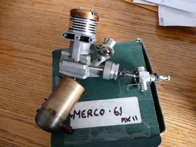 MERCO Glow Engine 61MK11 With Muffler