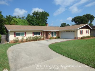 Beautiful 3 BR / 2 BA In Winter Park