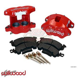 Purchase New Wilwood Big GM D52 Red Brake Caliper & Pad Kit W/Pins 140-11291R motorcycle in Wichita, Kansas, United States, for US $369.50