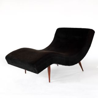 Mid Century Modern Pearsall Wave Lounge Chair
