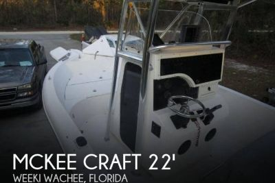 2003 Mckee Craft 22 Run Away