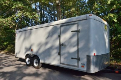 20 FT.CAR, OR CARGO TRAILER--$2,900