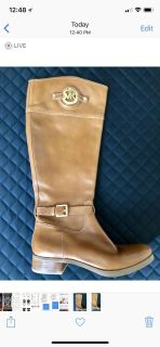 Authentic Michael Kors tall boots 7 1/2