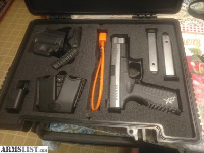 For Sale/Trade: Springfield XDM 9mm