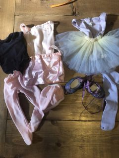 18 inch ballet or American Girl Doll outfits