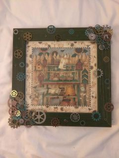 One of a kind picture frame