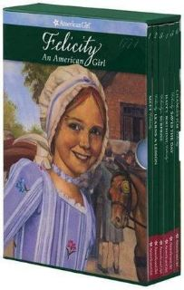 BRAND NEW AMERICAN GIRL DOLL FELICITY HARDCOVER BOXED SET OF 6 BOOKS R