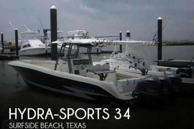 2012 Hydra Sports 3400 CC