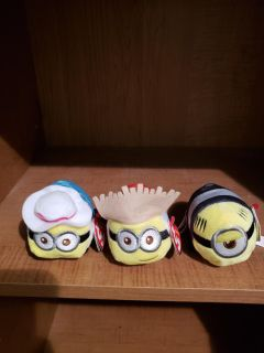 NWT TY Mini Minions 7/15 meet only