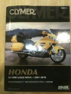 $25 Manual for 2001-2012 honda goldwings