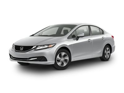 2015 Honda Civic LX (Alabaster Silver Metallic)