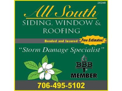 ALL SOUTH SIDING, WINDOW & ROOFING, LICENSED ...