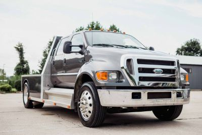 2007 FORD F650 CUSTOM BUILT HAULER